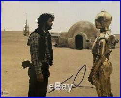 George Lucas signed autographed 11x14 photo Star Wars RARE BECKETT COA