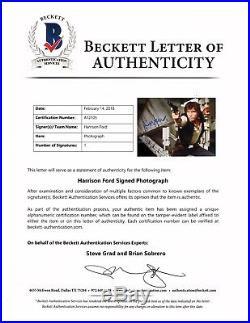 HARRISON FORD Signed STAR WARS Han Solo 16x20 Photo Beckett BAS #A12105