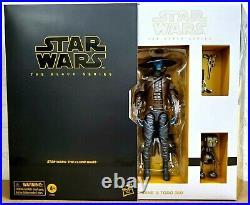 Hasbro Star Wars Black Series 6 Cad Bane & Todo 360 Action Figures