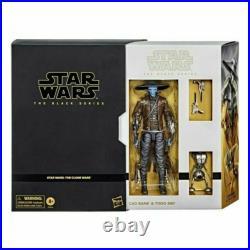 Hasbro Star Wars Black Series 6 Inch Figure CAD Bane & Todo 360 Set Pre-Order