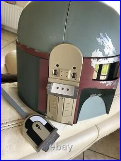Hasbro Star Wars Boba Fett Electronic Helmet 2009 Full Size