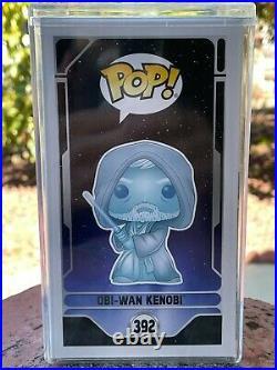 Holographic GITD Obi-Wan Kenobi Funko Pop Star Wars Celebration LE 3000