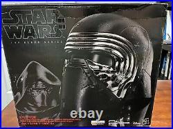 KYLO REN Helmet Star Wars Black Series Voice Changer Brand New Never Opened
