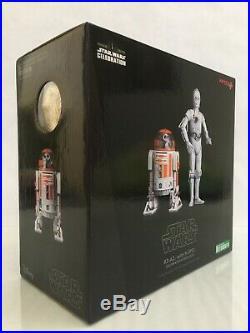 Kotobukiya ARTFX 1/10 Star Wars CELEBRATION R3-A2 & K-3PO with COIN(SideshowithHoth)