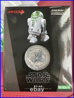 Kotobukiya Star Wars Celebration VI Exclusive R2-A6 Artfx+ Figure SEALED IN BOX
