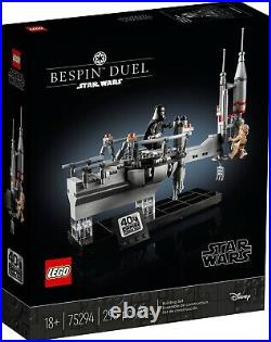 LEGO Star Wars 75294 Bespin Duel Empire Strikes 40th Celebration ONE (1) Set