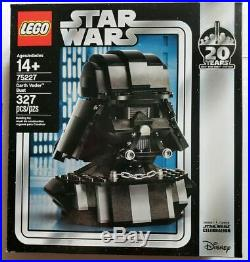 LEGO Star Wars Darth Vader Bust 75227 2019 20 Years Celebration EXCLUSIVE NIB