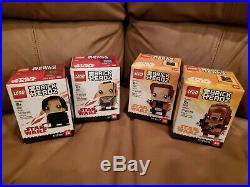LEGO Star Wars Darth Vader Bust Helmet (75227) + 4 Brickheadz & Blu-Ray, Poster