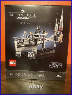 LEGO Star Wars The Bespin Duel 75294 Celebration (Box Slightly Damaged)