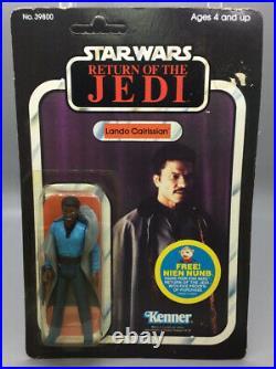 Lando Calrissian Star Wars Return Of The Jedi 1983 48 Back Kenner MoC