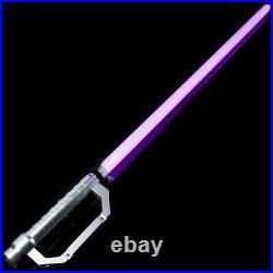 Lightsaber Ezra Bridger Force FX Heavy Dueling Color Changing Metal Dueling RGB