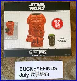 Limited Ed Geeki Tikis Star Wars Celebration Chicago Exclusive Rancor Luke