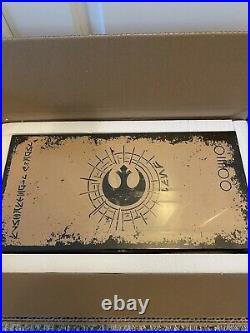 Luke & Leia Skywalker Legacy Lightsaber Set Galaxys Edge LE 3000 New Sealed