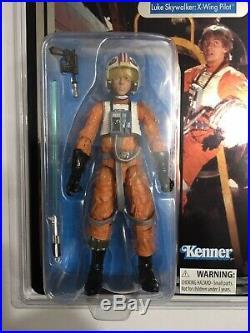 Luke Skywalker X Wing Pilot 40th Anniversary Star Wars Celebration Exclusive 6in