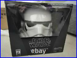 Master Replicas SW-153 CE A New Hope Stormtrooper Helmet Full Size Never Opened