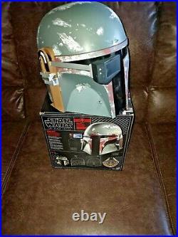 NEW Star Wars Black Series Boba Fett Premium Electronic Helmet READY TO SHIP
