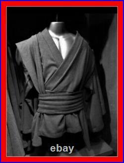 NEW Star Wars Galaxys Edge Adult Jedi Black Tunic Cosplay Costume Size 2XL/3XL
