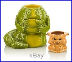NEW Star Wars Jabba the Hutt & Salacious Crumb Ltd Ed Geeki Tiki Mug Set RARE