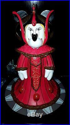 NEW Walt Disney World Star Wars Weekend Minnie as Queen Amidala Big Figure LE