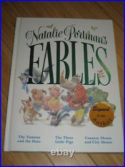 Natalie Portman Signed Fables Book Star Wars/Padme/Amidala VERY RARE