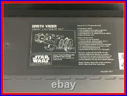 New Disney Star Wars Galaxys Edge Darth Vader Legacy Lightsaber Hilt With Blade