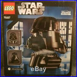 New! Lego (75227) Star Wars Darth Vader Bust 20 Years Celebration, Sealed Set