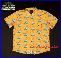 New! Star Wars Celebration 2019 Chicago Lando Hawaiian Shirt XXL (2xl)