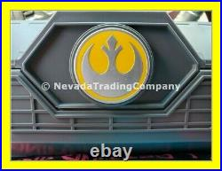 New Star Wars Galaxys Edge Rey Skywalker Legacy Lightsaber Disney Yellow Led New