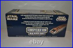 New Star Wars Star Tours Starspeeder 1000 Sneak Preview Vehicle LE 10000 MIP