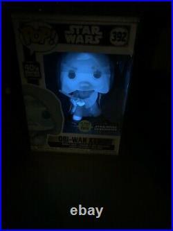Obi-Wan Kenobi #392 Celebration 2020 STAR WARS with plastic case -Funko Pop