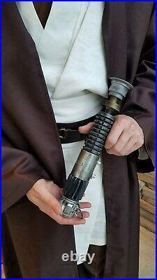 Obi Wan Kenobi Lightsaber Hilt Star Wars New Hope 11 Replica Prop K4 Cosplay