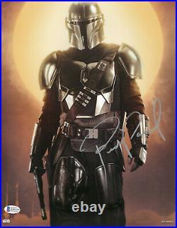 Pedro Pascal Signed 11x14 Star Wars The Mandalorian Autograph Beckett Bas Coa 9