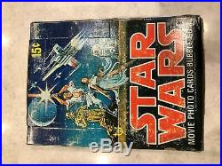 Rare 1977 Topps Star Wars Series 1 Unopened 36 Packs Wax Box Case Fresh
