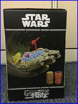 Rare Geeki Tiki Star Wars Millennium Falcon Sold Out Online