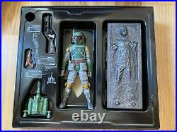 SDCC / Celebration 2013 Boba Fett with Han Solo in carbonite Black Series