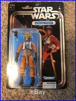 STAR WARS 40th Black Series MOC Luke Skywalker X-Wing Pilot Celebration Excl