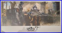 STAR WARS CELEBRATION 2019 SWCC VIP Jedi Master Meanwhile. Print by Dorman
