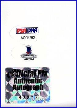 STAR WARS FORD, FISHER, HAMILL & MAYHEW Signed 11x14 OPX Photo PSA/DNA 10 & BAS