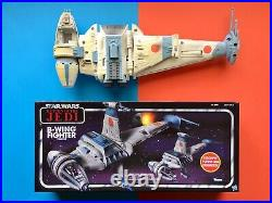 STAR WARS The Vintage Collection B WING FIGHTER + OVP Box Classic 77 Pilot FIGUR