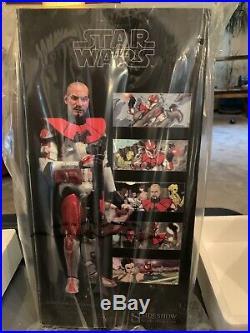 Sideshow Clone Commander Ganch Star Wars Celebration VI Exclusive