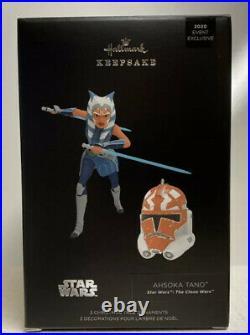 Star Wars 2020 Celebration Hallmark Keepsake Ahsoka Tano 332ND & Clone Helmet