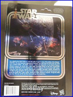 Star Wars 40th Anniversary Luke Skywalker X-Wing Pilot Celebration Exclusive NEW