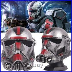 Star Wars Bad Batch Hunter Clone Trooper Helmet PVC Helmet Cosplay Halloween