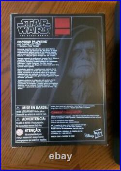 Star Wars Black Series Emperor Palpatine Throne Action Figure Hasbro Exclusive