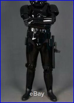 Star Wars Black Shadowtrooper Full Armour Kit (NEW)