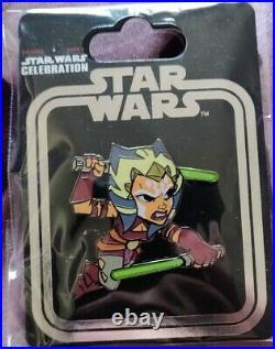 Star Wars Celebration 2017 Ahsoka Tano Pin Rare