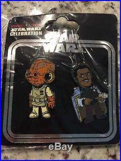 Star Wars Celebration 2017 Exclusive Pins RARE