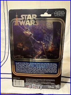 Star Wars Celebration 2017 Luke Skywalker X-Wing Pilot Black Series 40th Anniv