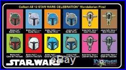 Star Wars Celebration 2019 Boba Fett Mandalorian Exclusive Pin Set Of 12 IN HAND