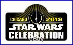 Star Wars Celebration 2019 Lando Calrissian Hawaiian Shirt Size XL